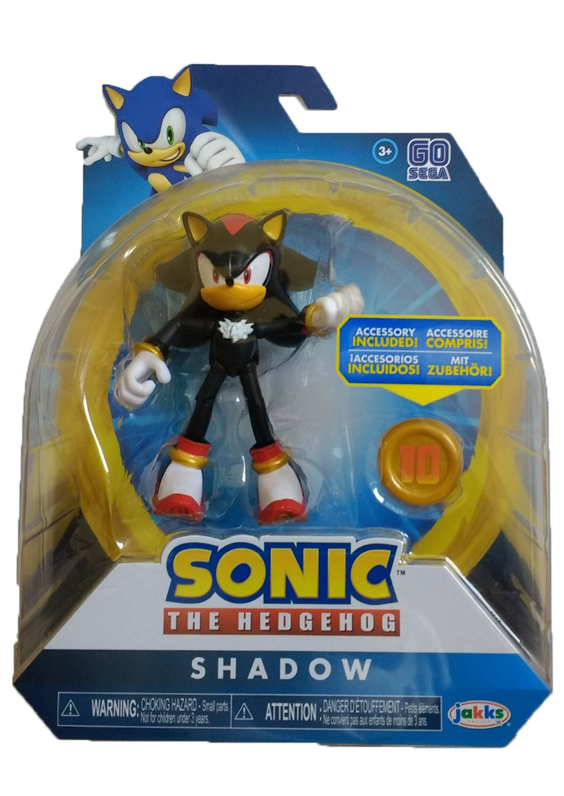 Sonic The Hedgehog 4 Inch Shadow Super Ring Action Figure Collectible Toy Ebay