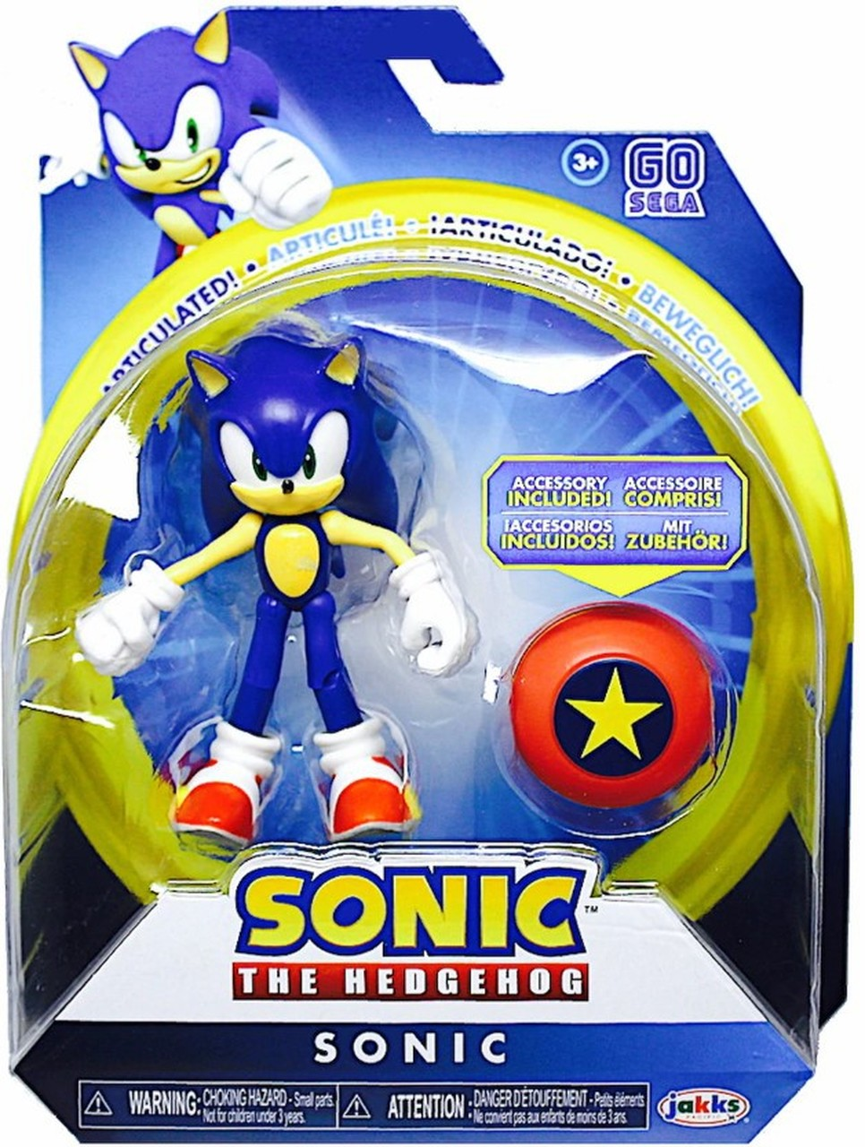 Sonic The Hedgehog 4 Inch Star Spring Action Figure Collectible Toy Ebay